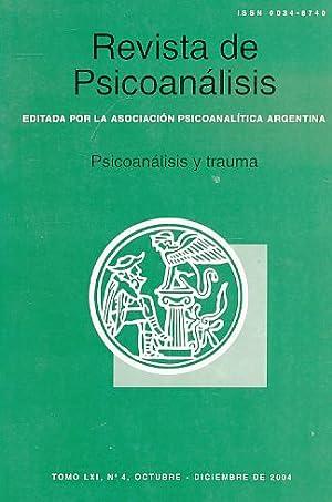 Psicoanalisis y trauma. Nr. 4. 2004. Revista