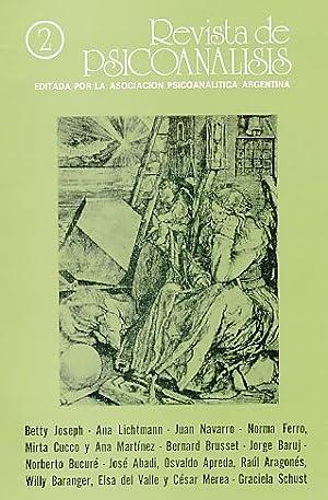 Nr. 2. 1987. Revista de Psicoanalisis.