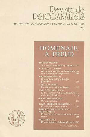 Homenaje a Freud. Nr. 2/3. 1989. Revista
