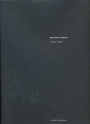 Max Dudler, Architekt Katalog zur Ausstellung in: Dudler, Max: