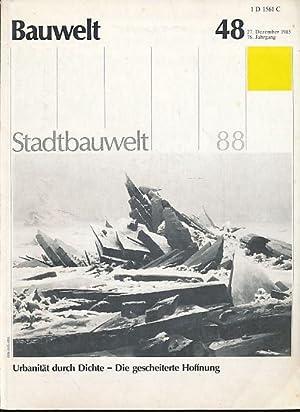 Bauwelt. 74. Jg., Heft 1/2, 1983. Posthistoire,: Conrads, Ulrich und