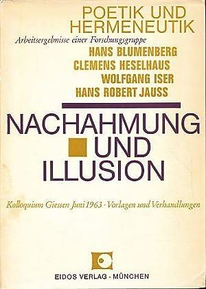 Nachahmung und Illusion. Kolloquium Gießen, Juni 1963. Vorlagen und ...