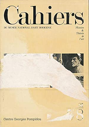 Cahiers du musee national d'art moderne 81,7/8: Regnier, Gérard (Ed.):