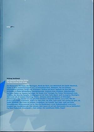 48+5. Stiftung Buchkunst. Die schönsten deutschen Bücher: Mayer-Stoltz, Jana (Red.):