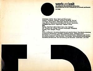 Werk und Zeit 2/3/1985 die Zeitschrift des: Kaczmarczyk, Armando (Red.):