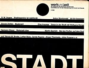 Werk und Zeit 4/1985 die Zeitschrift des: Behnken, Klaus (Red.):
