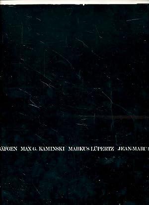 Wolfgang Gäfken, Max G. Kaminski, Markus Lüpertz,: Pichon, Jean-Louis und