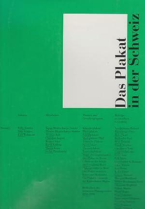 Das Plakat in der Schweiz : mit: Rotzler, Willy: