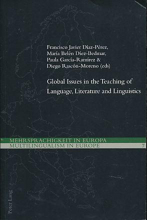 Global Issues in the Teaching of Language,: Díez-Bedmar, María Belén,
