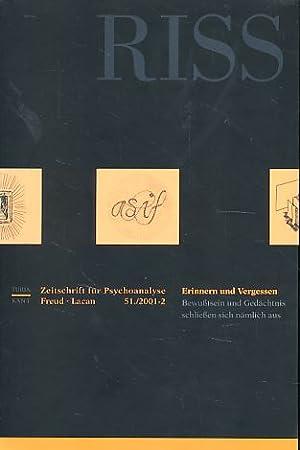 Riss. Zeitschrift für Psychoanalyse 16. Jahrgang -: Ammann, Ernst, Raymond