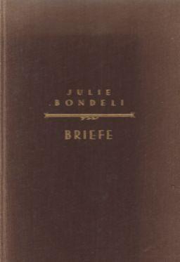 Die Briefe von Julie Bondeli an Johann: Haller, Lilli: