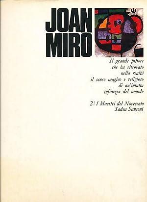 Joan Miro. I Maestri del Novecento .: Miro, Joan: