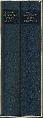 Werke in zeitlicher Folge. Frankfurter Ausgabe. Bd.: Strindberg, August: