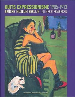 Duits expressionisme 1905 - 1913. Brücke-Museum Berlijn, 150 meesterwerken. Groninger Museum ,...