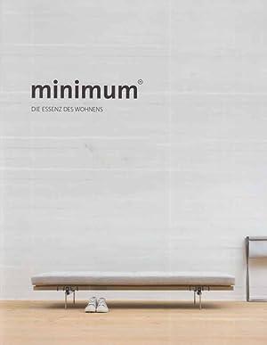 Minimum Die Essenz Des Wohnens Verkaufs Katalog Von Lembert