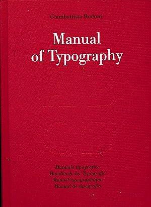 Manuale tipografico. Hrsg. von Stephan Füssel.: Bodoni, Giambattista: