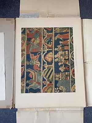 Gestickte Bildteppiche und Decken des Mittelalters Band: Schuette, Marie: