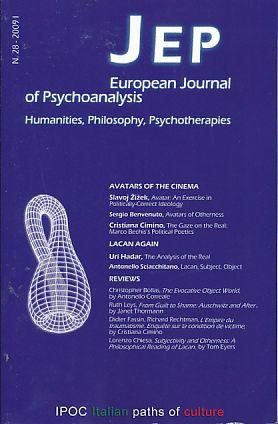 Journal of European Psychoanalysis. No. 28. 2009: Benevenuto, Sergio, Cristiana