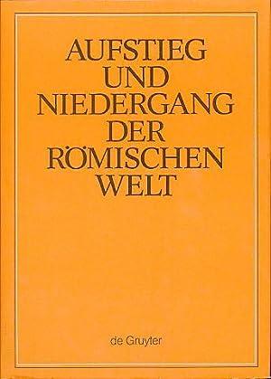 ANRW II, Bd. 33. Teilbd. 1: Sprache: Haase, Wolfgang (Hg.):