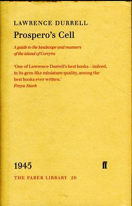 Prospero's Cell. A guide to the landscape: Durrell, Lawrence: