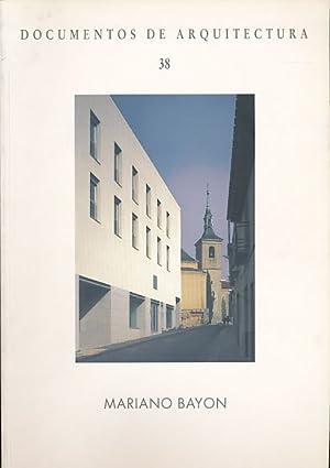 Mariano Bayón. Documentos de arquitectura 38 .: Soler, Miguel Centellas