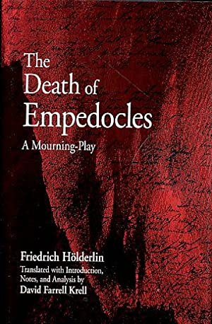 The Death of Empedocles. A Mourning-Play. A: Hölderlin, Friedrich: