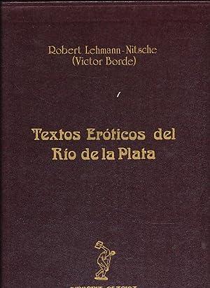Textos eróticos del Río de La Plata,: Borde, Victor d.