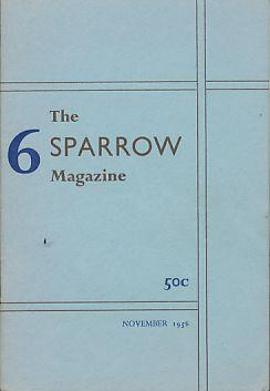 The Sparrow Magazine 6. November 1956.: Stefanile, Felix (Ed.):
