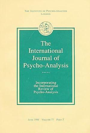 The International Journal of Psycho-Analysis. June 1996.: Tuckett, David (Ed.):