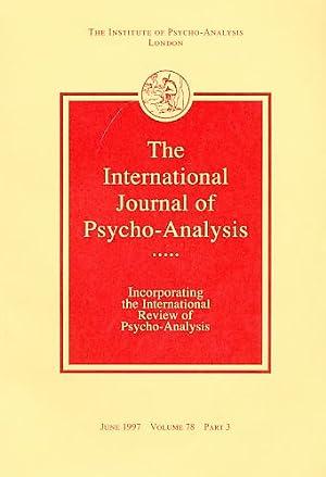The International Journal of Psycho-Analysis. June 1997.: Tuckett, David (Ed.):