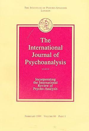 The International Journal of Psycho-Analysis. February 1999.: Tuckett, David (Ed.):
