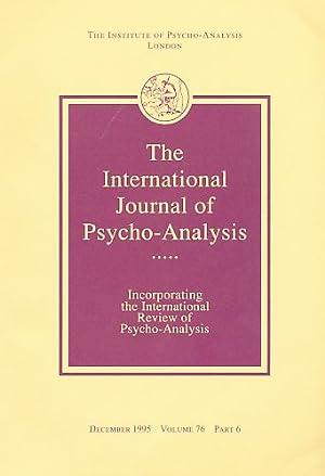 The International Journal of Psycho-Analysis. December 1995.: Tuckett, David (Ed.):
