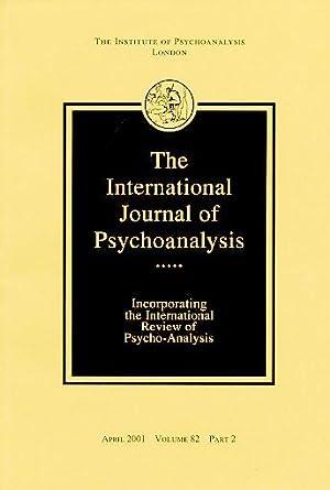 The International Journal of Psycho-Analysis. April 2001.: Tuckett, David (Ed.):