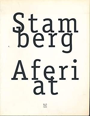 Stamberg Aferiat Introduction by Paul Goldberger. Foreword: Stamberg, Peter and