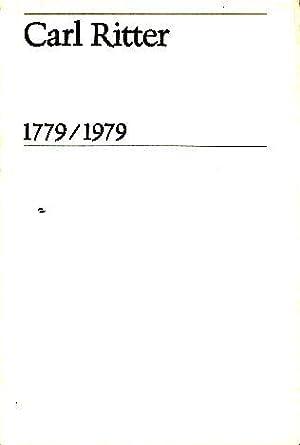 Carl Ritter, genio de la geografía : sobre su vida y su obra. Trad. Felipe Boso.: Beck, ...