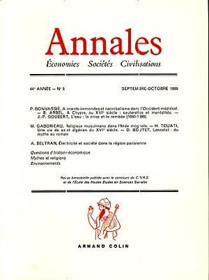 Annales. Économies Sociétés Civilisations, 44e Année, No: Braudel, Fernand, Charles