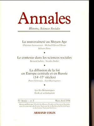 Annales. Histoire, Science Sociales, 51e Année, No: Dakhlia, Jocelyne, Charles