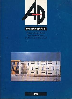 Bauen mit Faserzement. A+D. Architektur + Detail.: Henn, Ursula (Hg.):