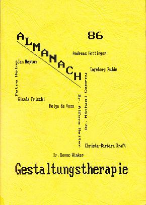 Almanach 86 - Gestaltungstherapie.: Kurz, Heinz (Hrsg.):