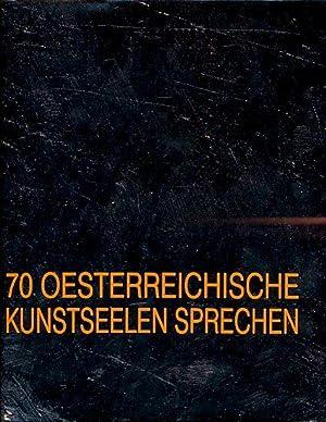 70 österreichische Kunstseelen sprechen.: Graf, Werner und