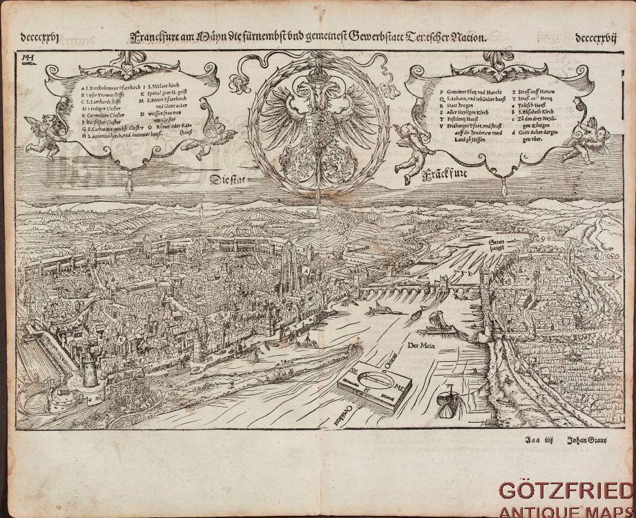 Franckfurt am Mayn die fuernemest und gemeinest: Münster, Sebastian