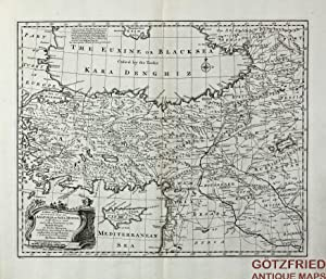 A New and Accurate Map of Anatolia or Asia Minor with Syria and such other Provinces of the Turki...