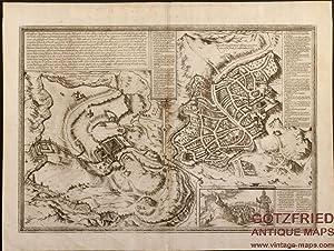 Hierosolyma, Clarissima totius Orientis civitas, Iudaeae Metropolis: Janssonius, Johannes