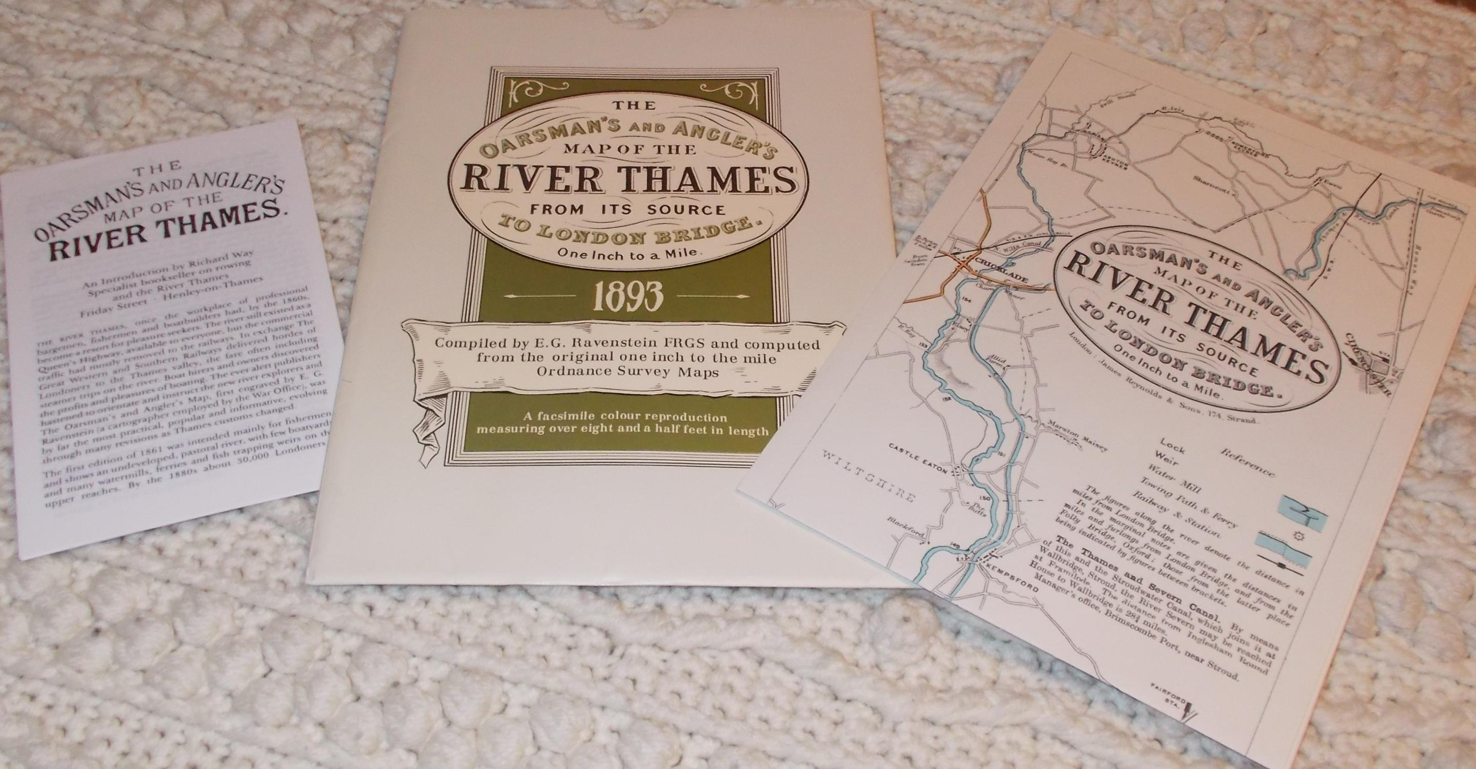 Map Of London Bridges Over The Thames.The Oarsman S And Angler S Map Of The River Thames 1893 From Its