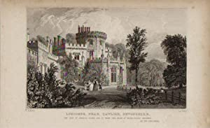 Luscombe, Near Dawlish, Devonshire. Original Engraved Print: Le Petit.