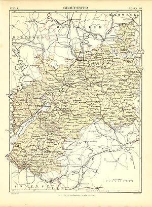 Map Of England Gloucestershire.Gloucestershire England Encyclopaedia