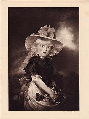 Portrait of H.R.H. Princess Sophia by John