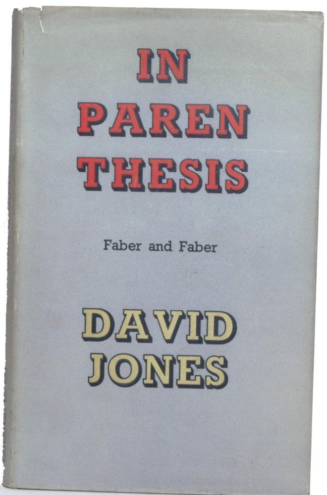 In Parenthesis: Jones, David