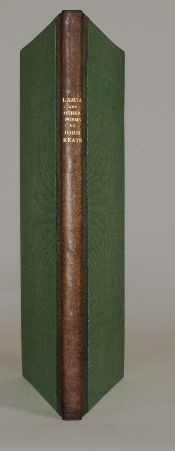 Lamia, Isabella, The Eve of Saint Agnes & Other Poems by John Keats. Edited by H. Buxton Forman...