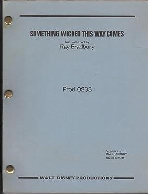 Something Wicked This Way Comes. Screenplay: Bradbury, Ray